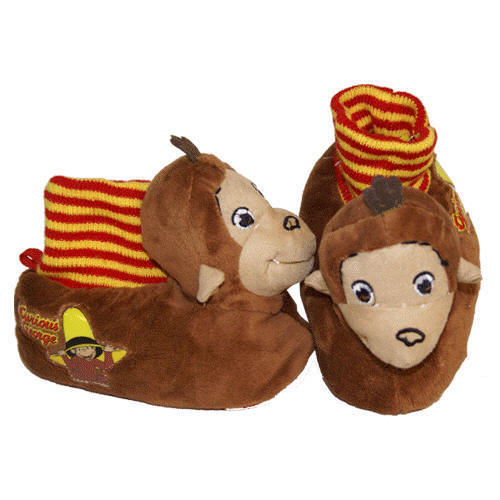 Curious George - Footwear - Socktop Slippers